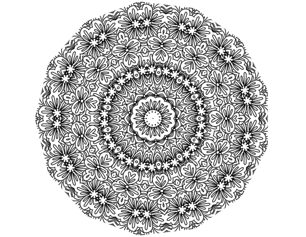 doily transparent clipart