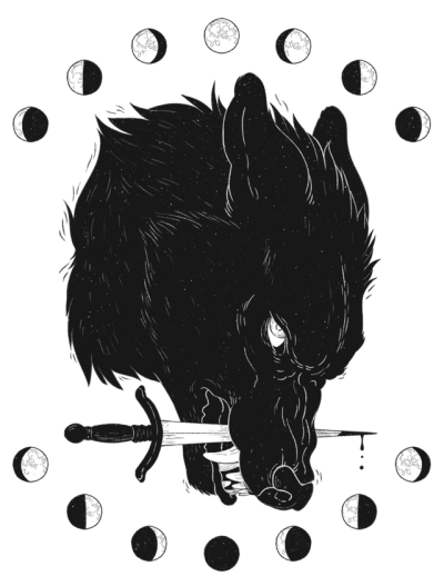 Wolves transparent black and white. Tumblr drag this arounddestroy