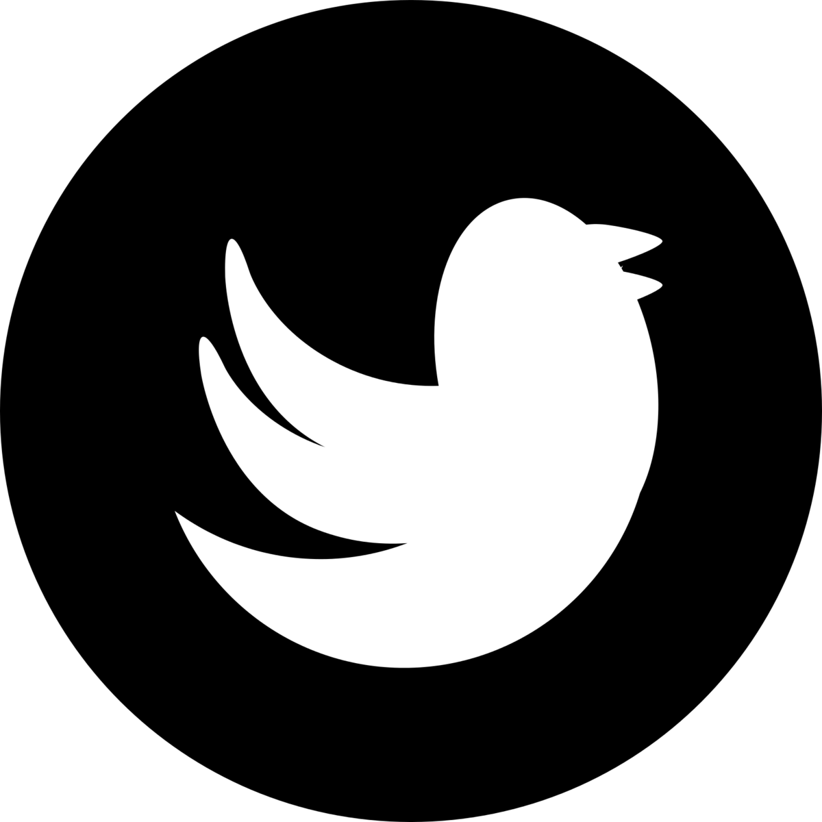 Black and white twitter logo png. Icon transparent umsu recent