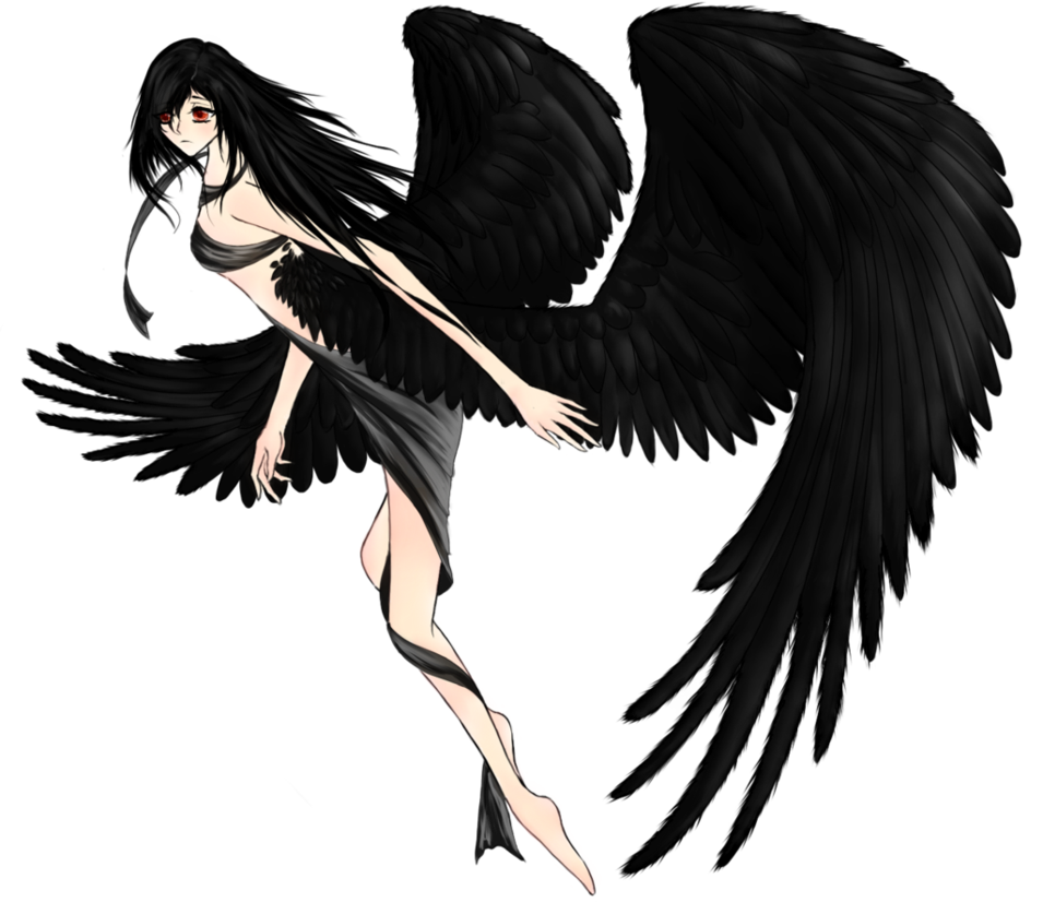 Black angel png. Dark images what is
