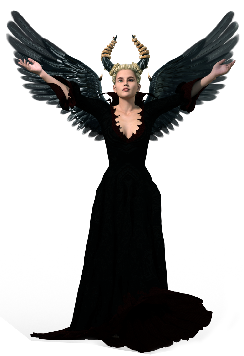 Dark transparent images all. Black angel png picture library library