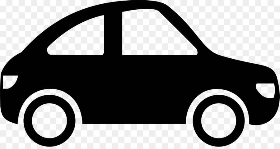 Black car. Line background clipart product