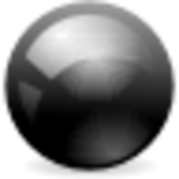 Black ball png. Free images at clker