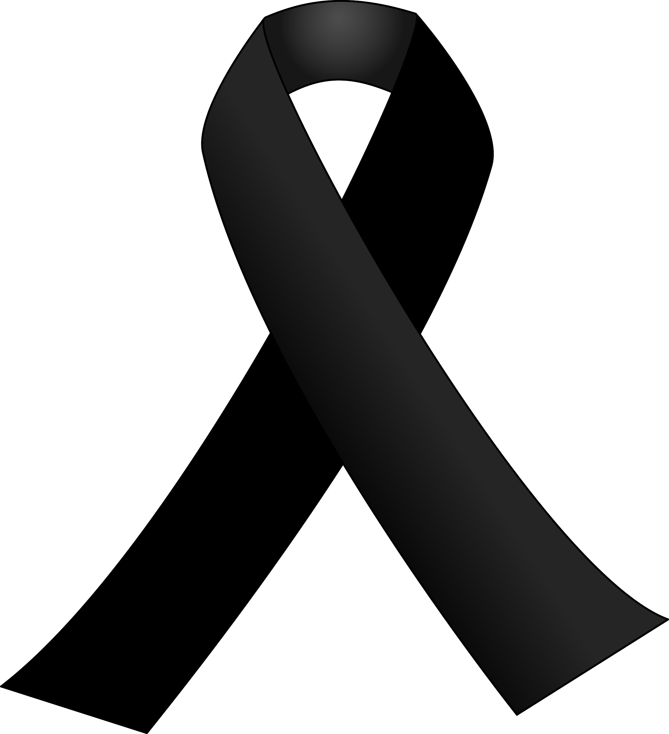 Cancer vector epilepsy ribbon. Black icons png free