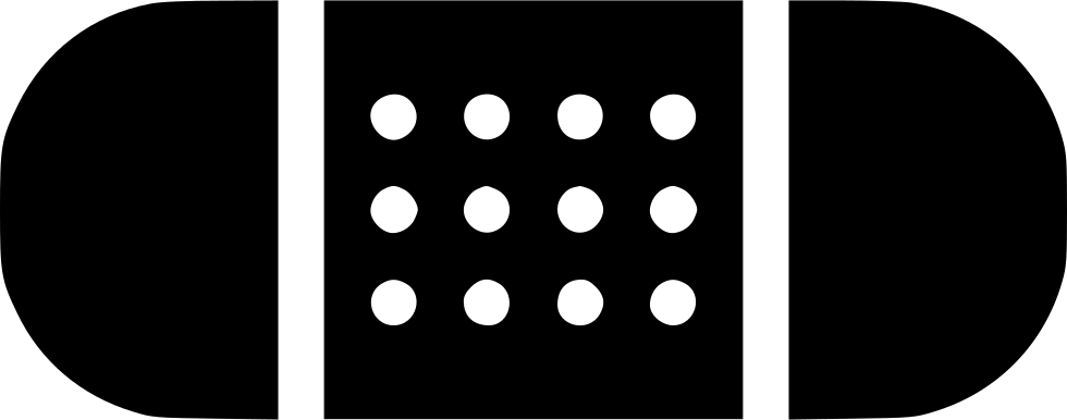 Black band png. Aid svg icon free