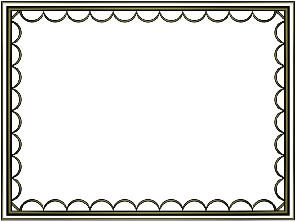 Fun borders png. Black border shiny artistic