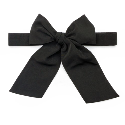 Black bow png. Ribbon picture vector clipart