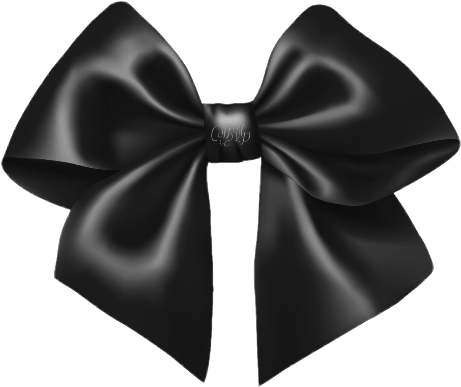 Black bow png. Blackbow gothic steampunk