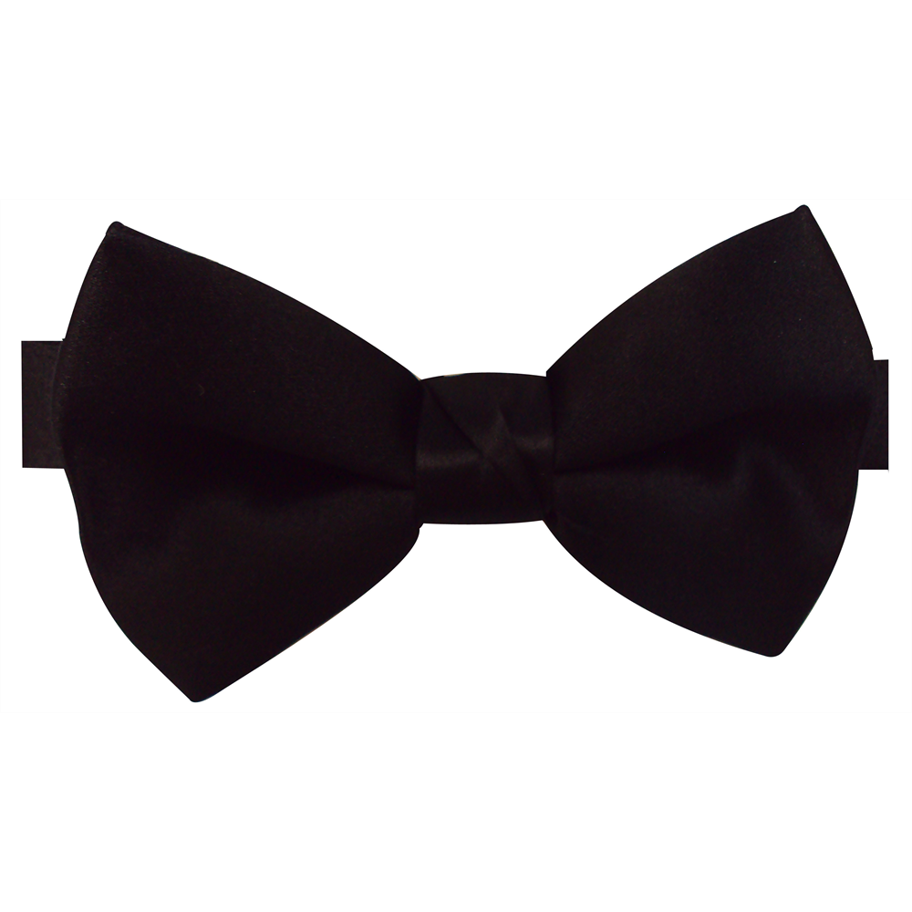 Black Bow Tie PNG Transparent Black Bow Tie
