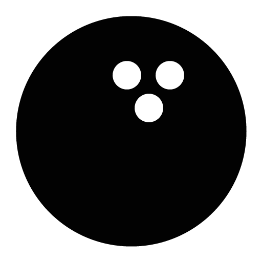 Black bowling ball png. Icon free icons