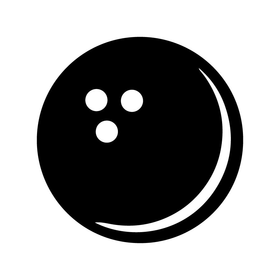 Black bowling ball png. Silhouette at getdrawings com
