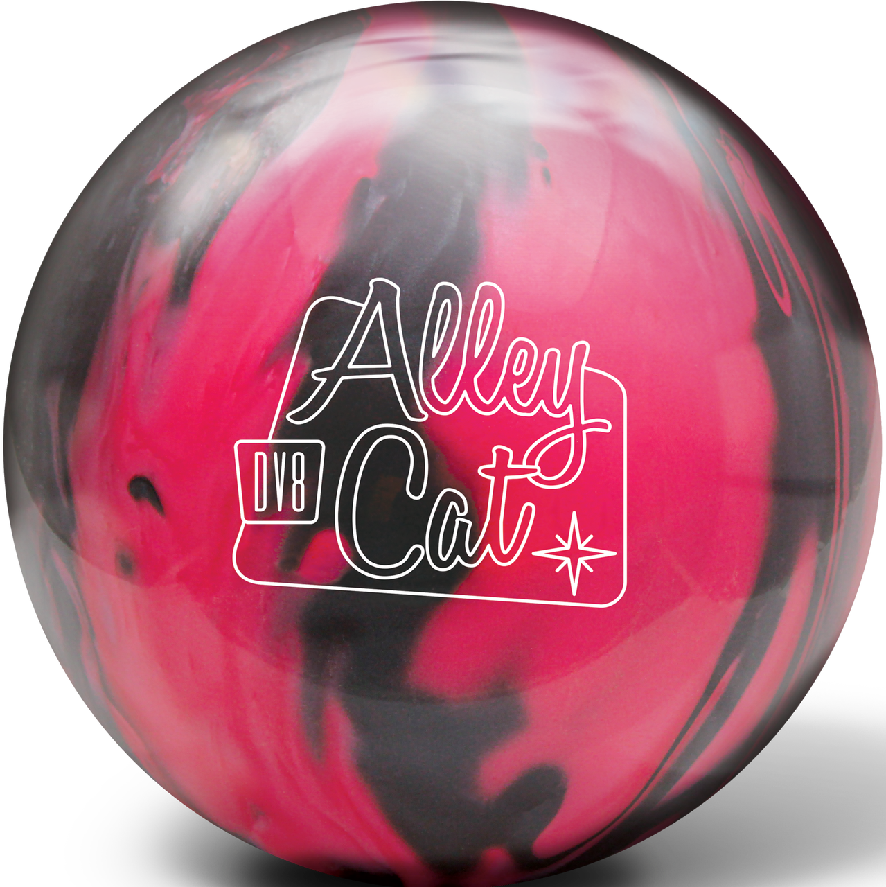Black bowling ball png. Dv alley cat by