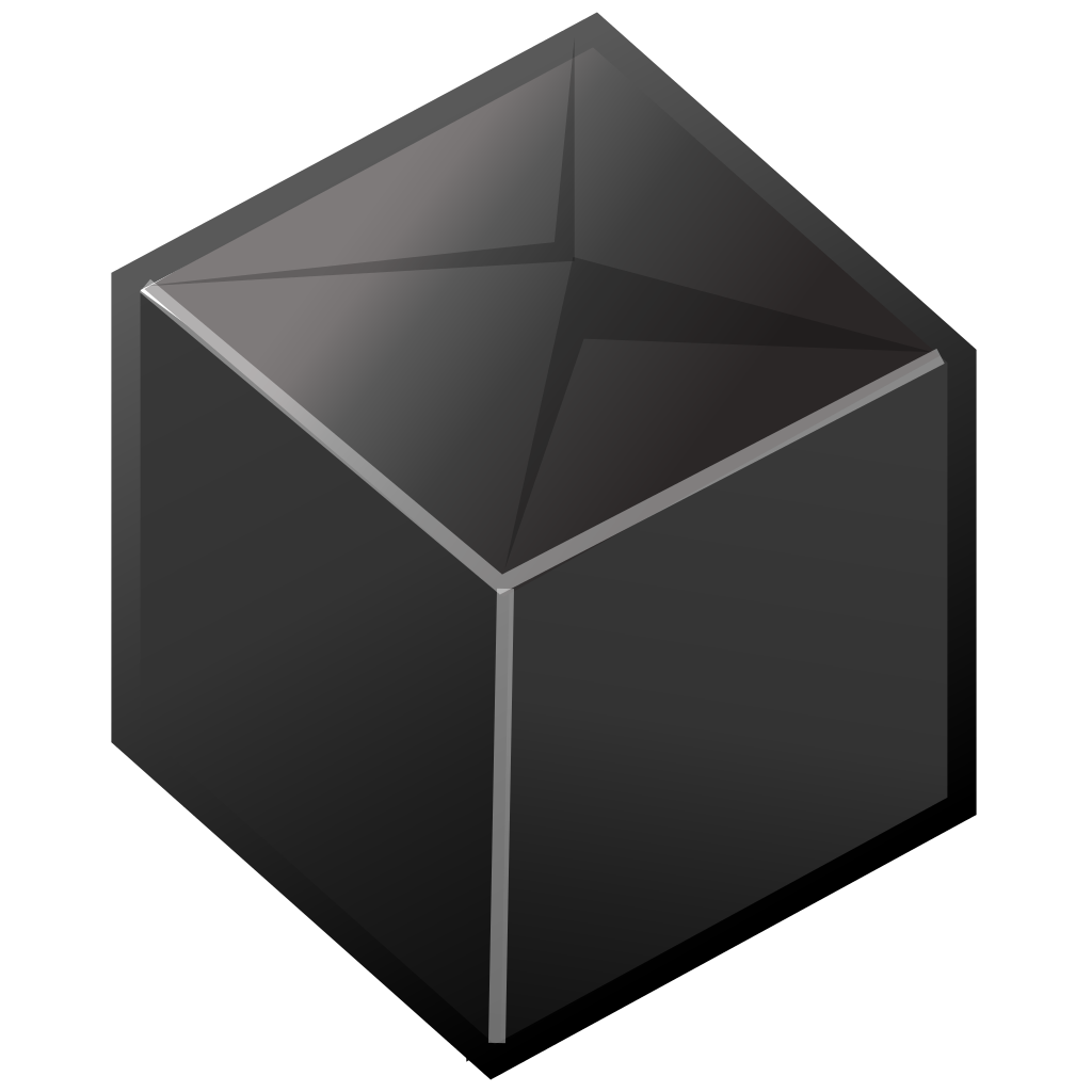 svg box black and white