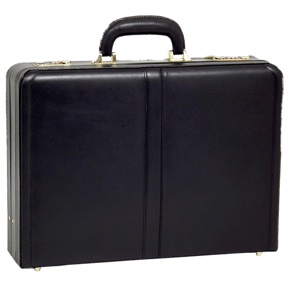 briefcase transparent gray