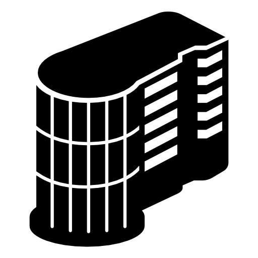 Black building icon png. Free download commercialbuilding icons
