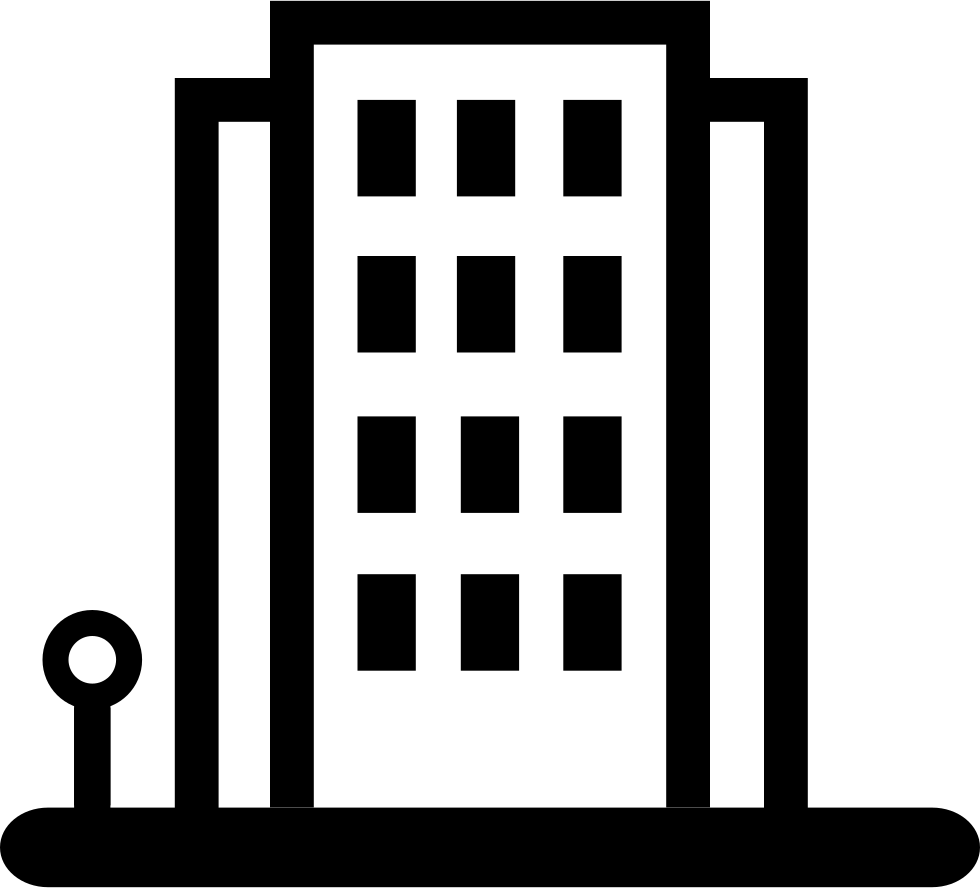 Transparent building icon. Svg png free download