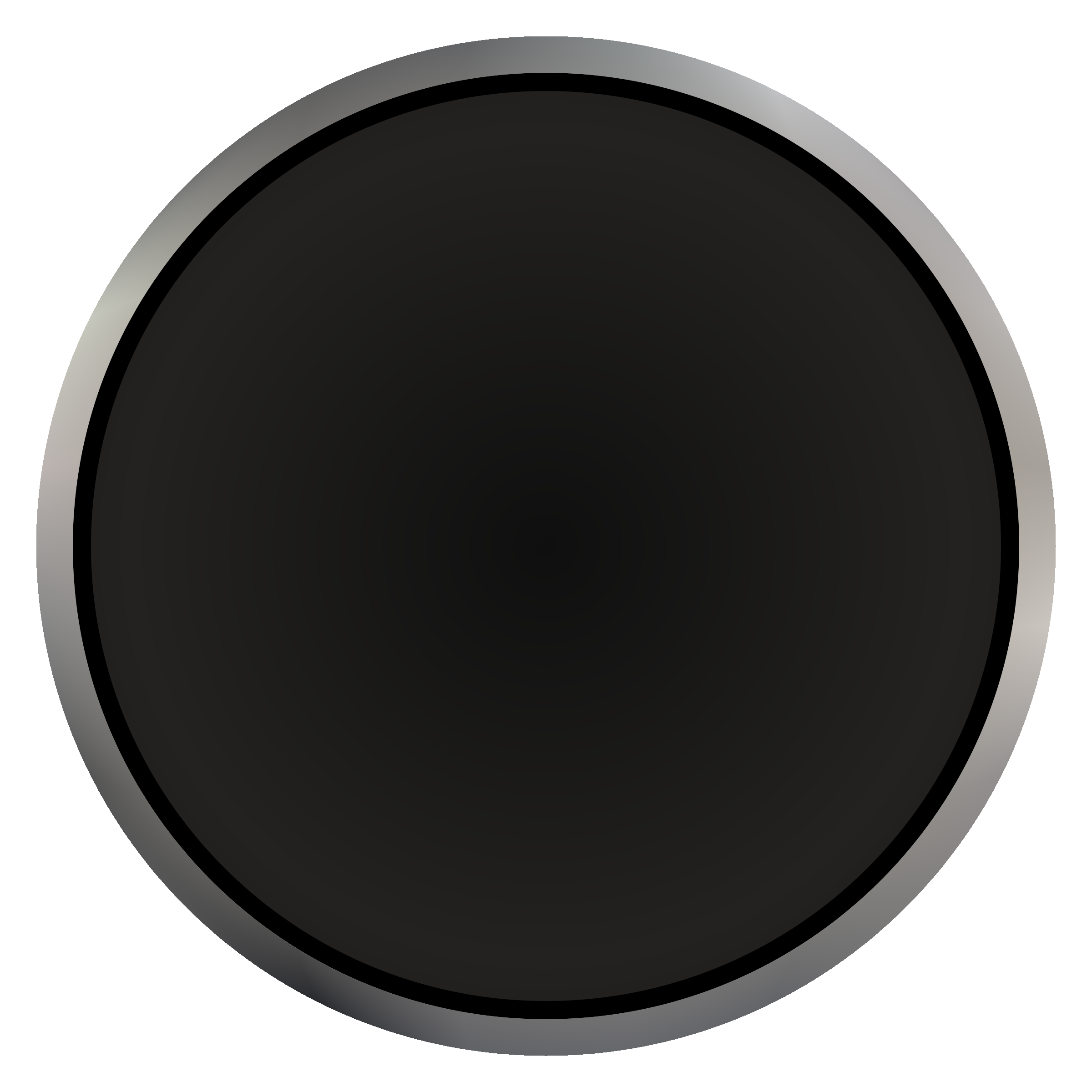 Black button png. Industrial push icons free