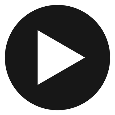 Black button png. Play transparent stickpng