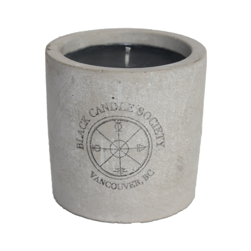 Black candles png. Concrete candle society a
