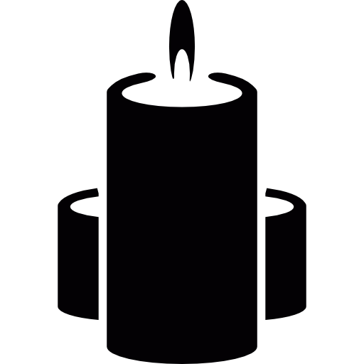Black candles png. Light free icons icon