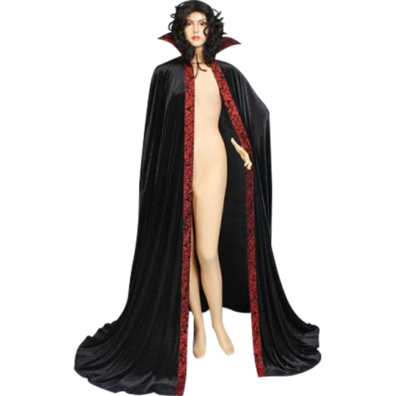 Black cape png. And red dracula mci