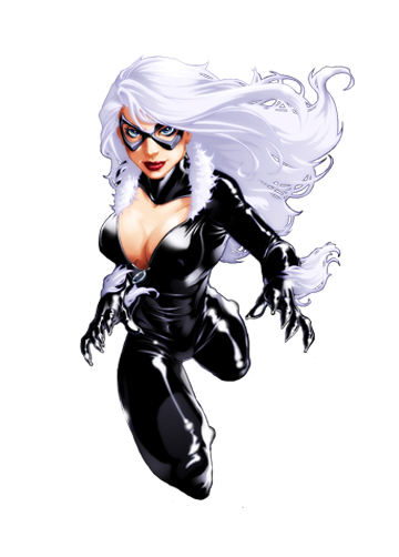 catwoman transparent marvel comic