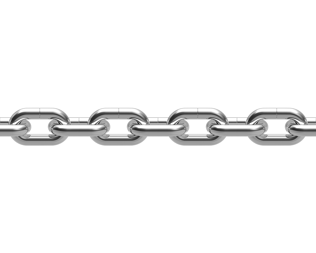 Transparent link chain. Single line png stickpng