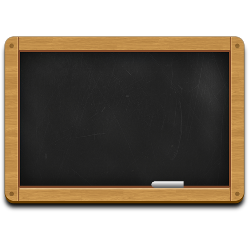 Black chalkboard png. Wooden icon psd resources
