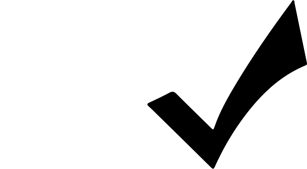 Black check mark png. Svg icon free download