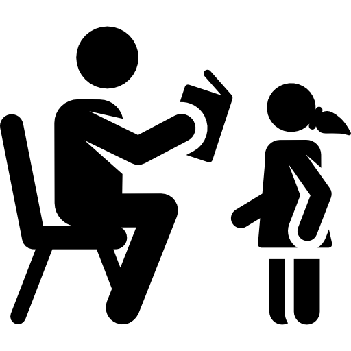 Black children png. Icon page svg