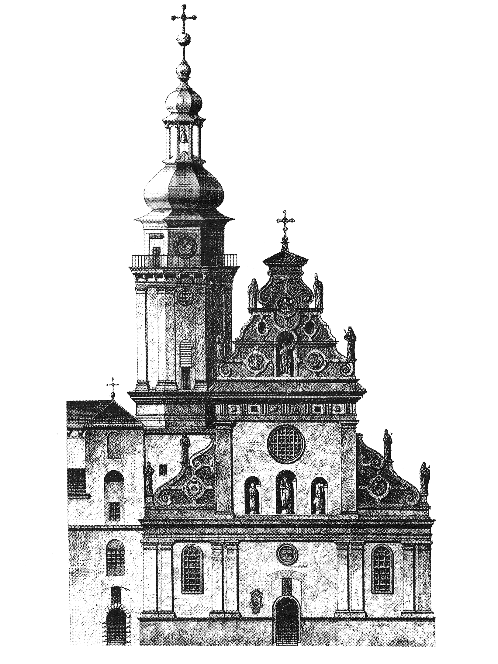 church drawing png