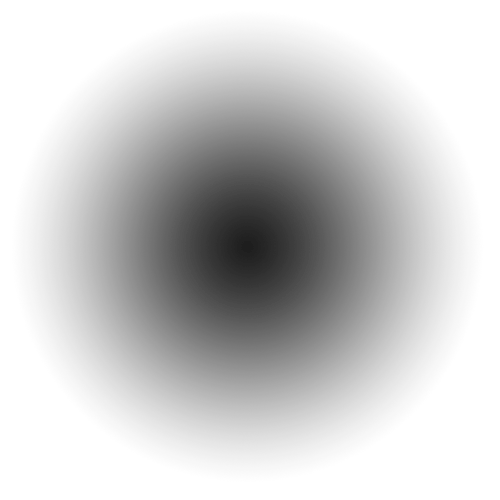 Black circle fade png. Gradient spearfish circlegradient