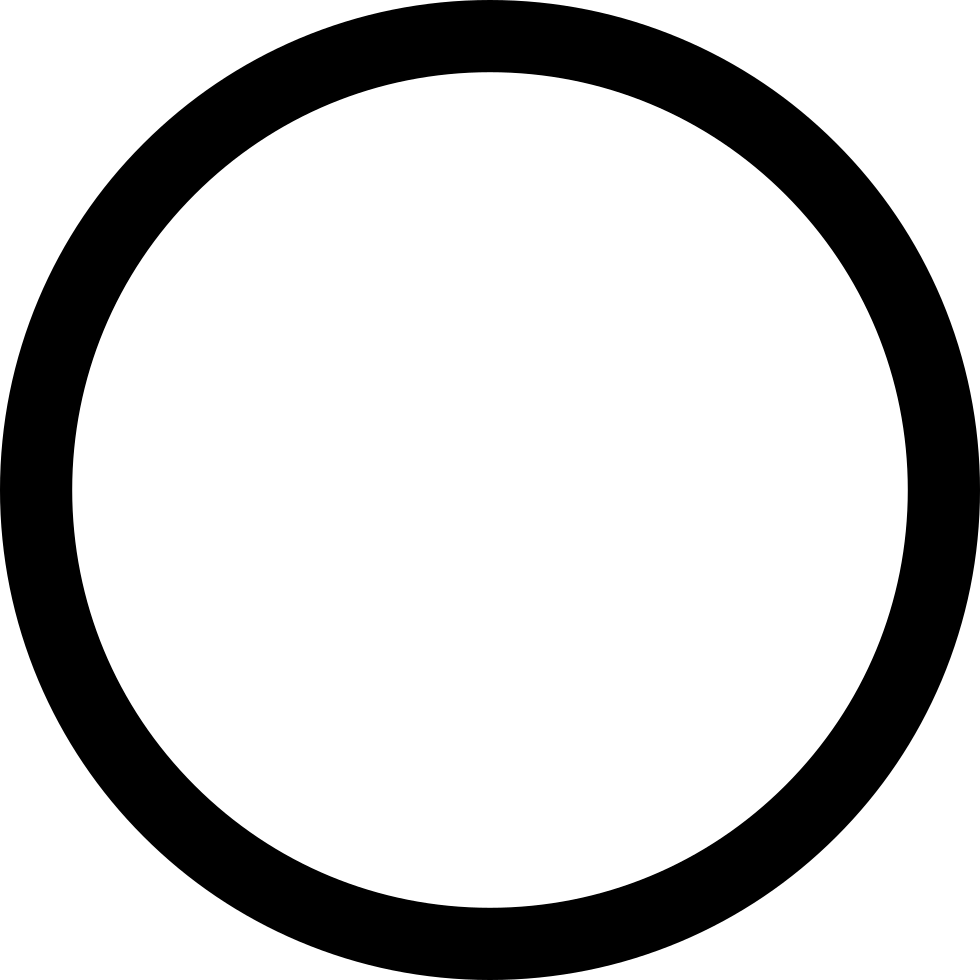 Circle outline png. Svg icon free download