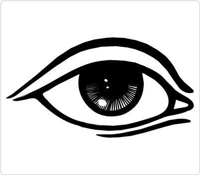 Black clipart eyes. And white eye clipartfest