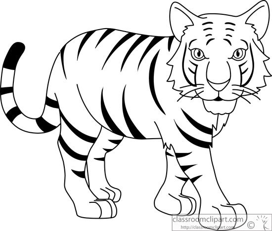 Black clipart white tiger. And great of letter