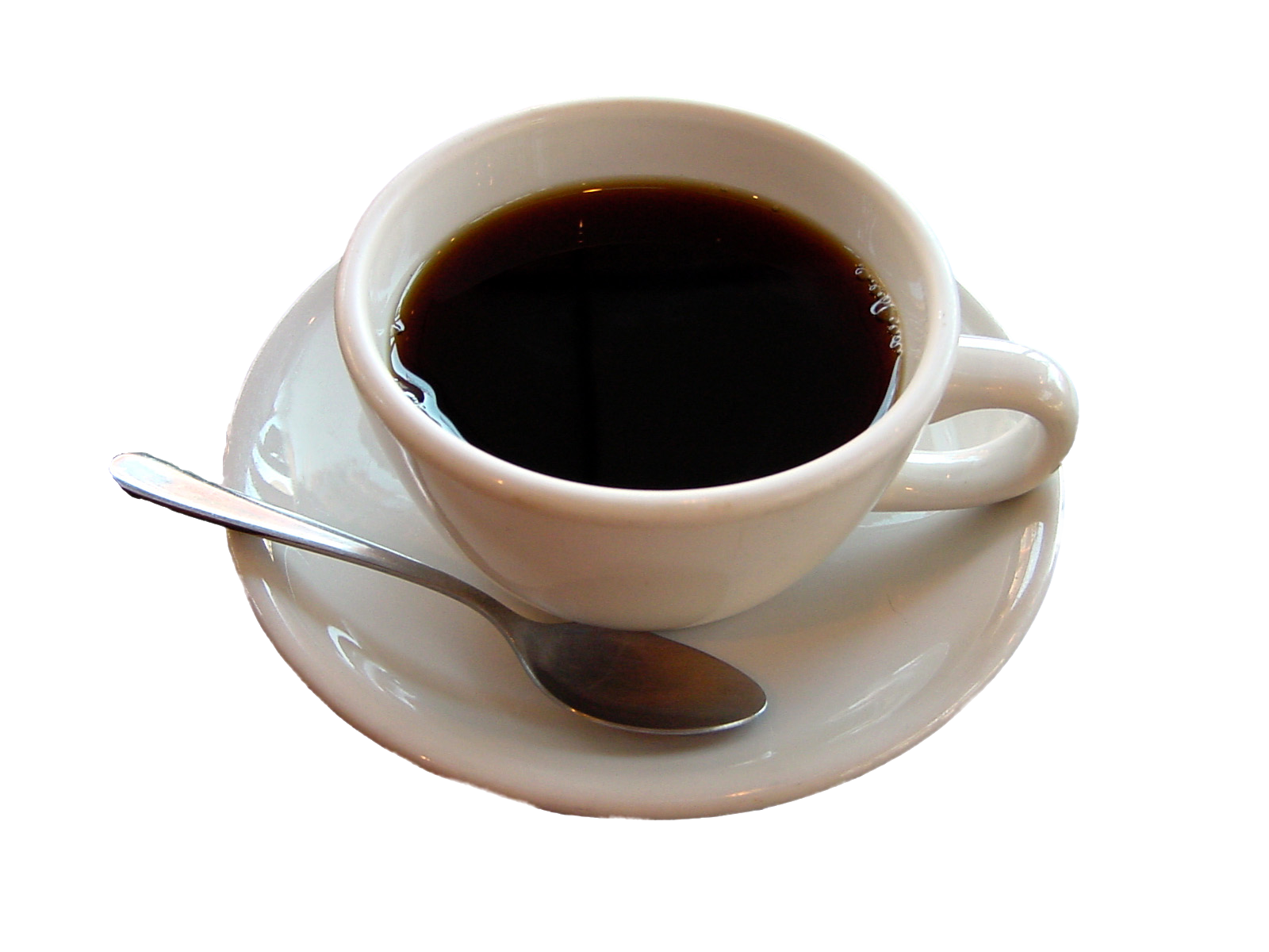 Black coffee png. Cup eighteen isolated stock