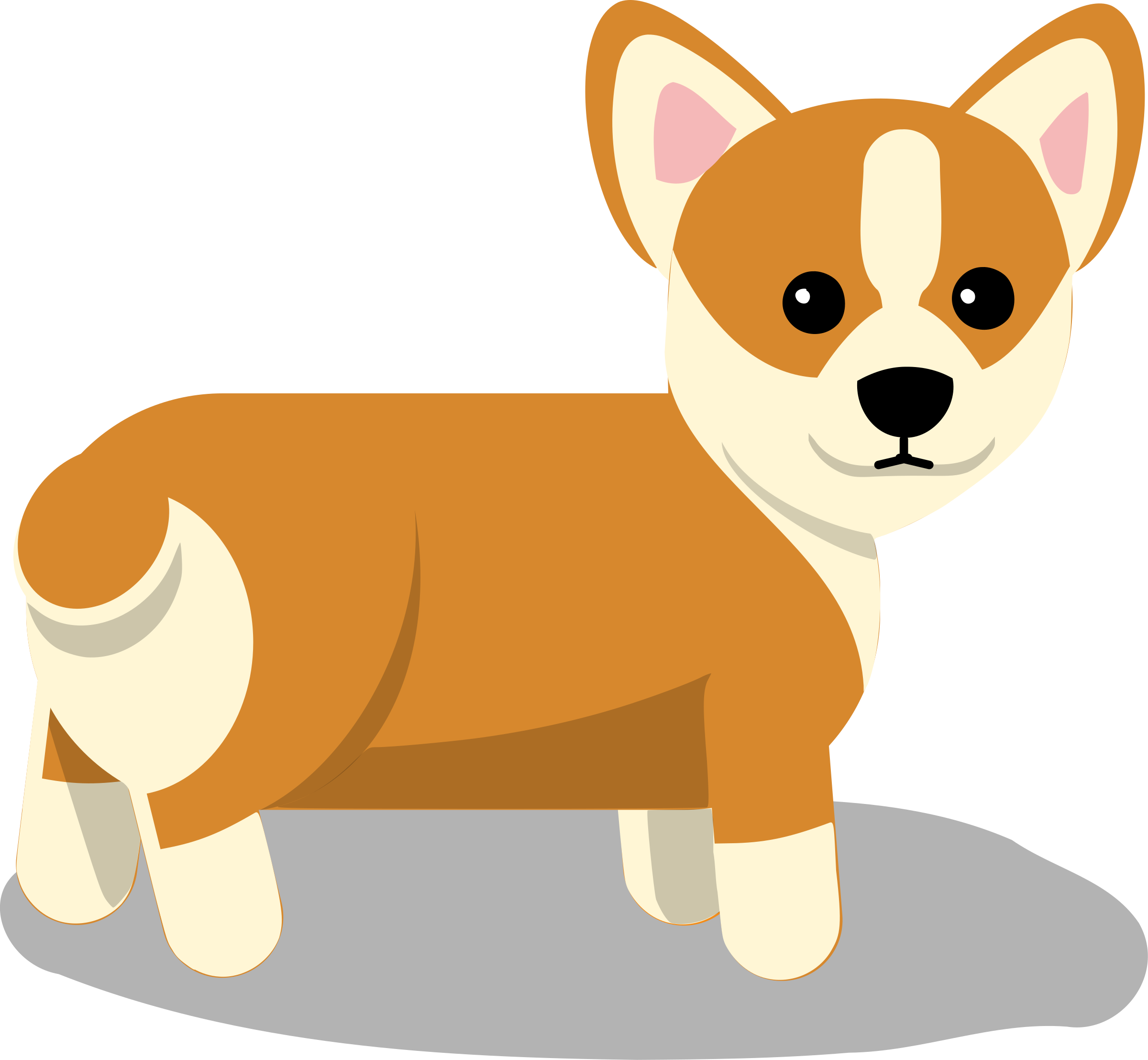 dogs vector side