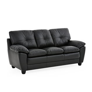 Transparent couch black. Sofa brault martineau hover