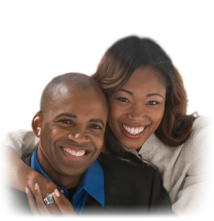 African american couple png. Black image