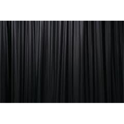 black curtain png