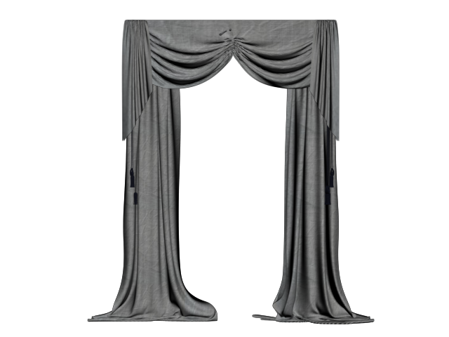 Black curtain png. Curtains by cherry on