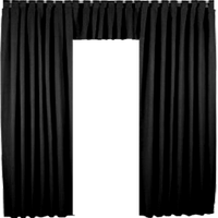 Black curtain png. Image