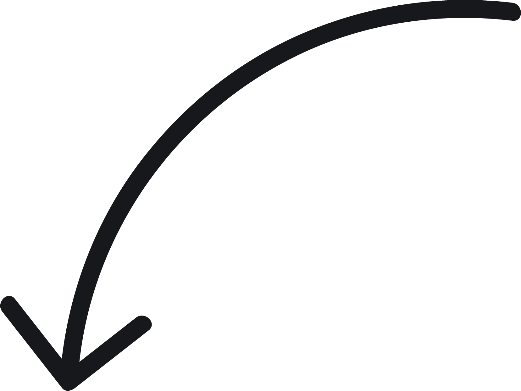 Curved arrows png. Arrow curve tool transprent