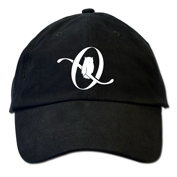 Black dad hat png. Icarus the owl logo
