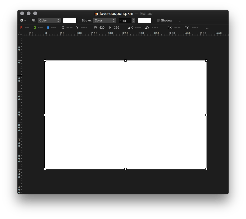 Black dashed coupon box png. Pixelmator tip how to