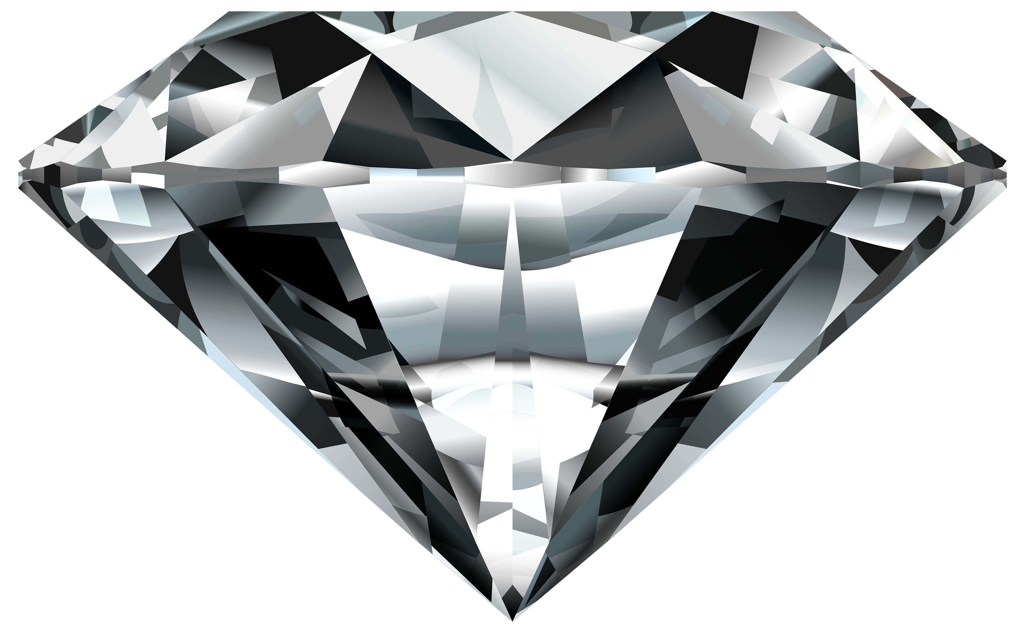 Black diamond png. Gem clipart best web