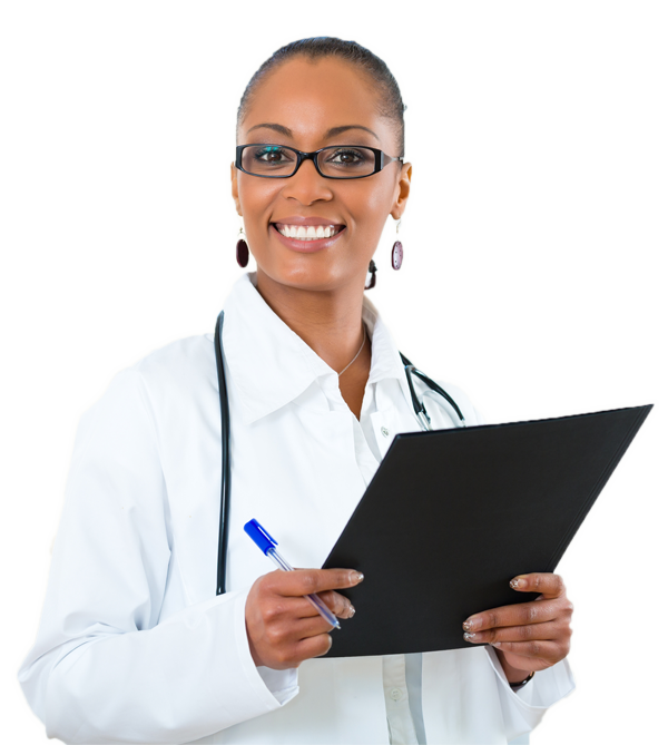 Black doctor png. Home answer health reduce