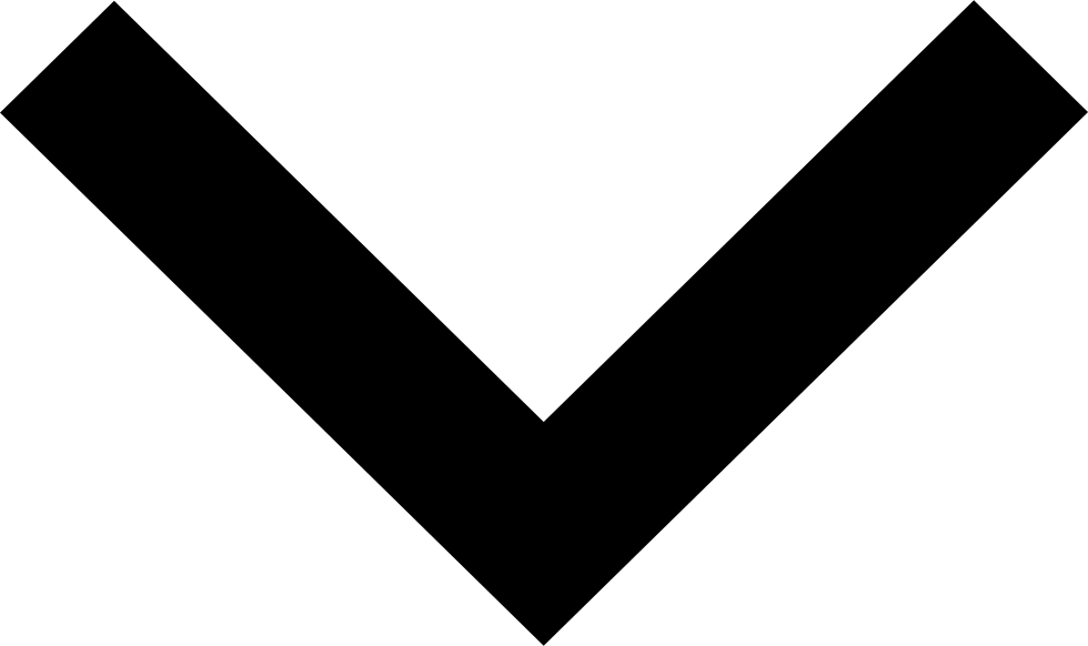 Black down arrow png. Drop svg icon free