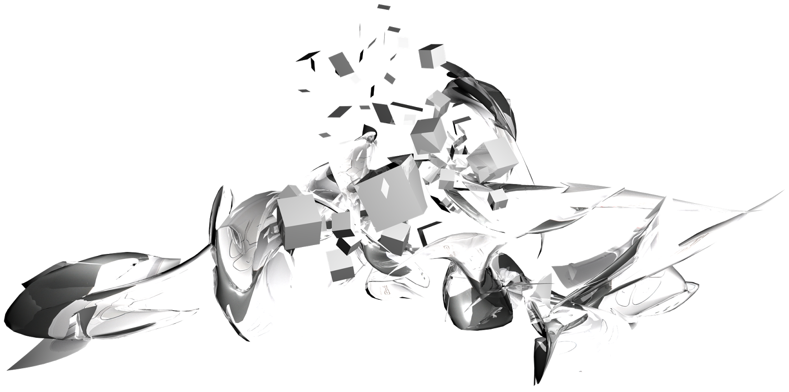 Black effects png. Artistic silver art image
