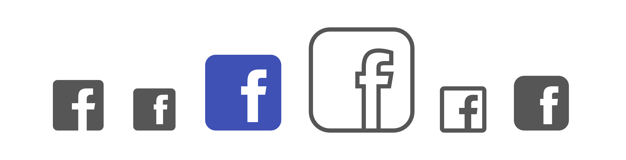 Icon free download and. Facebook logo 2016 png picture royalty free library